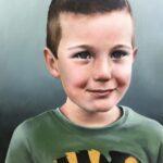 Ingezwolle.portret.vijfjarige