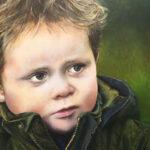Julian, 30x40 cm, olieverf op paneel